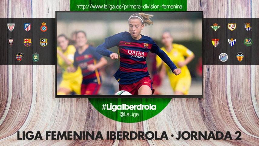 La segunda jornada de la Liga Femenina Iberdrola se presenta apasionante