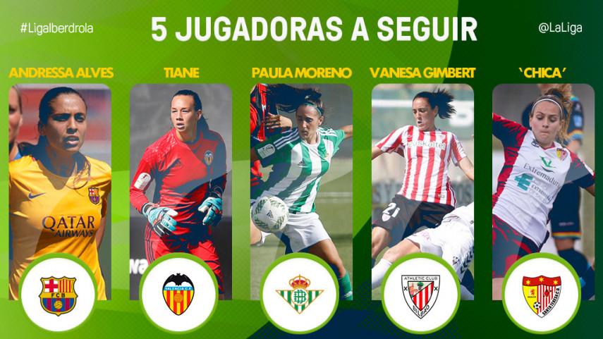 Las cinco jugadoras a seguir de la jornada 2 de la Liga Iberdrola