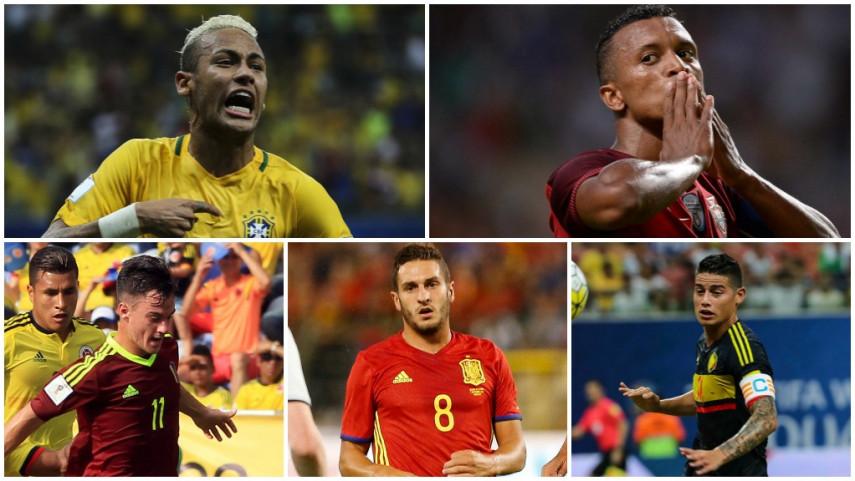 Los jugadores de LaLiga deslumbran en el parón internacional