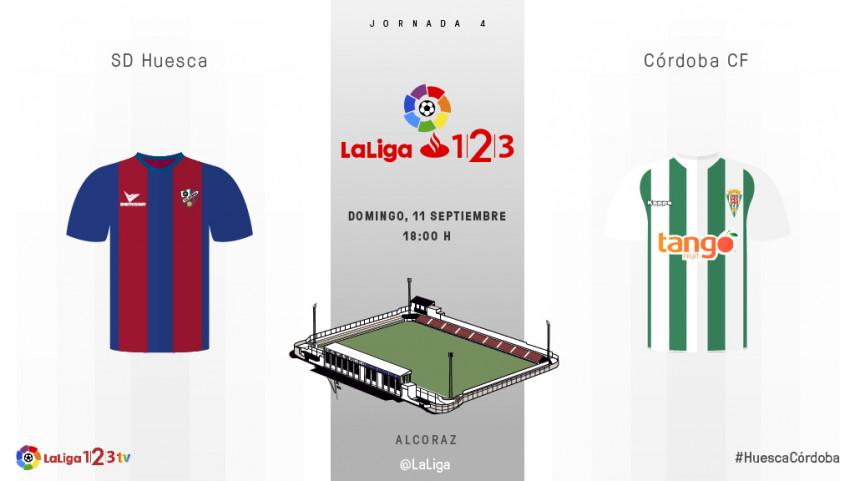 El Córdoba visita a un Huesca que necesita sumar