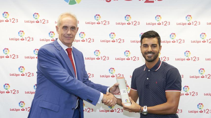 Ángel Rodríguez, Mejor Jugador de LaLiga 1|2|3 en agosto