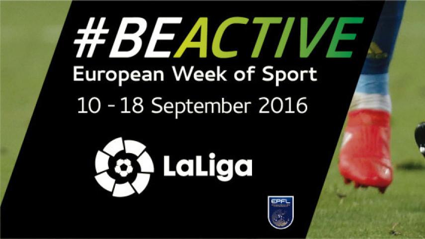 LaLiga apoya la Semana Europea del Deporte
