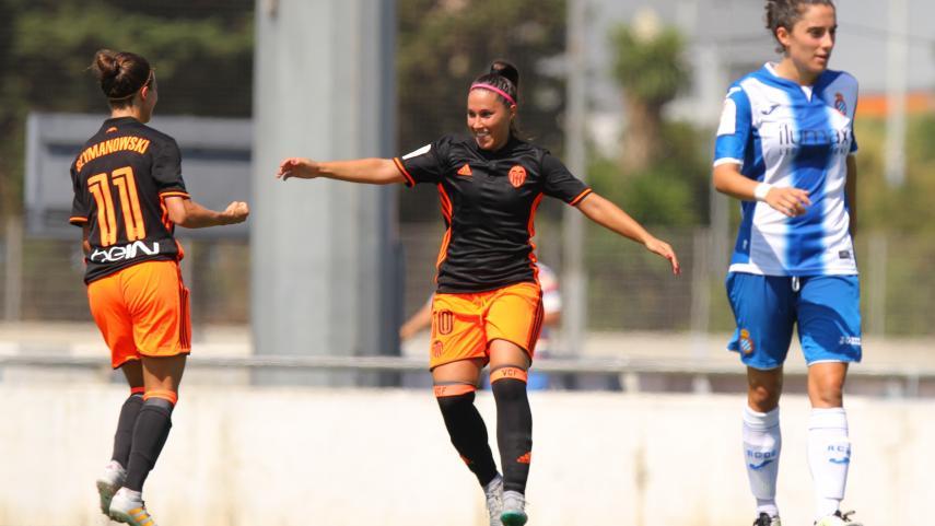 Mari Paz, máxima goleadora de la Liga Iberdrola