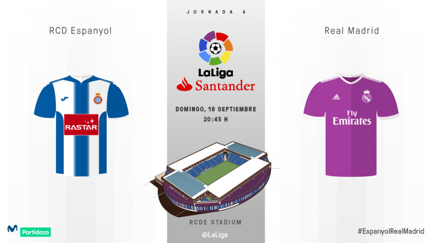 El Espanyol reta a un Real Madrid sin Bale y Cristiano