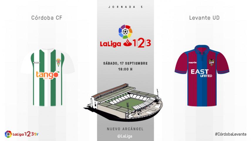 El Córdoba, siguiente rival para el líder de LaLiga 1l2l3