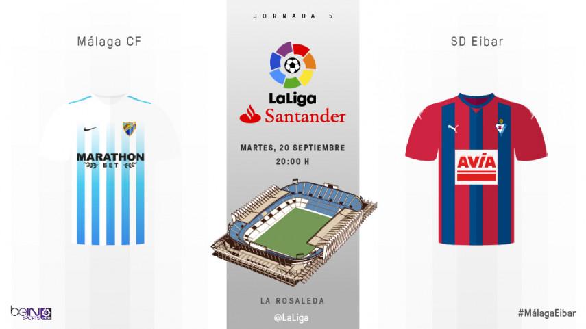 El Málaga quiere su primera victoria del curso