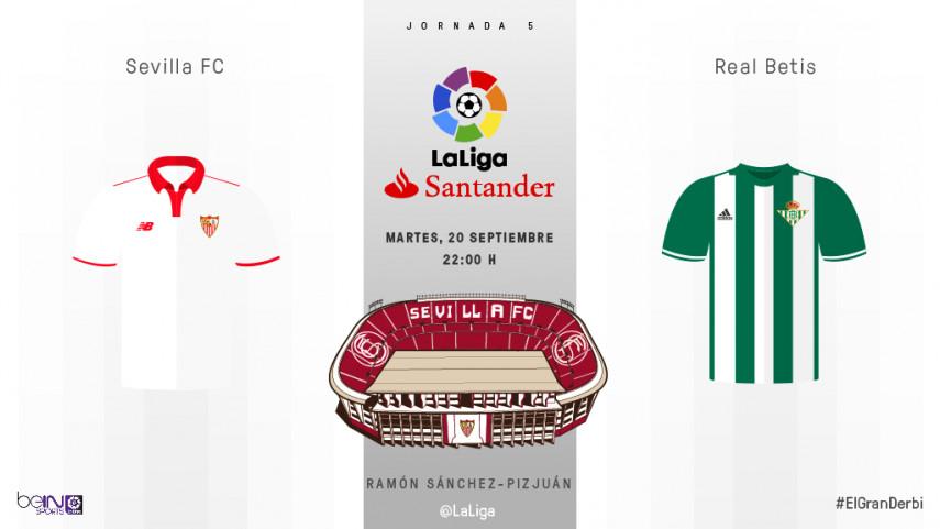 Sevilla ya vive la pasión de #ElGranDerbi de las novedades