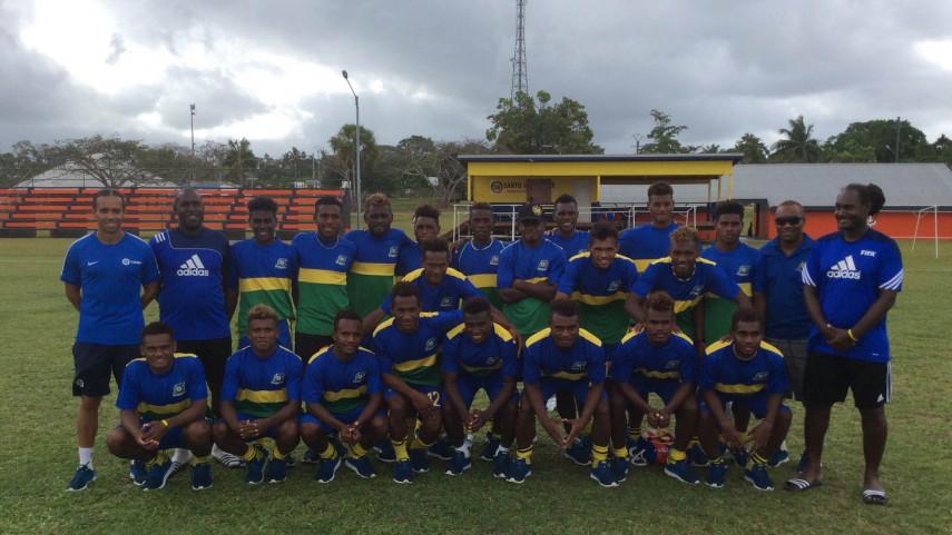 Pedro L. Mateo hace historia con la selección de Islas Salomón sub-20 de la mano de LaLiga