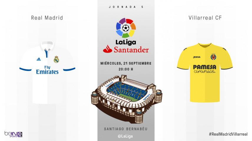 El Real Madrid busca hacer historia ante un invicto Villarreal