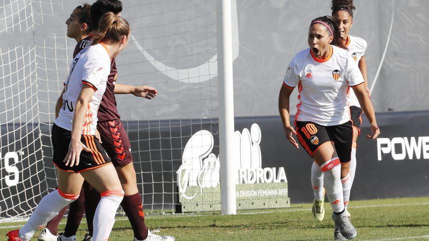 Maripaz es la máxima goleadora de la Liga Iberdrola