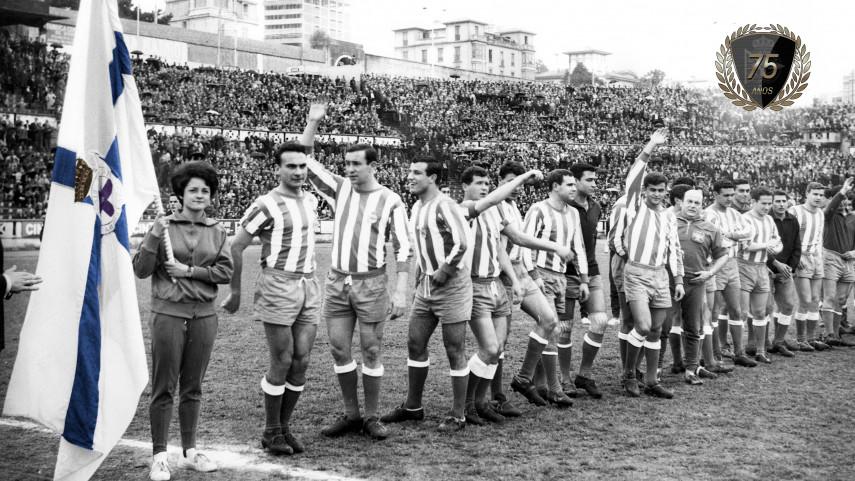 Se cumplen 75 años del primer partido del Deportivo de la Coruña en la máxima categoría del fútbol español