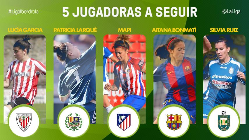 Las cinco jugadoras a seguir de la jornada 4 de la Liga Iberdrola