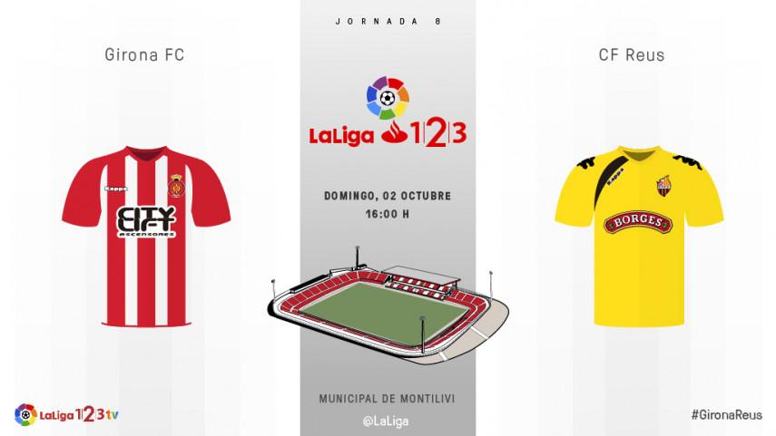 Girona y Reus protagonizan el primer derbi catalán de la temporada