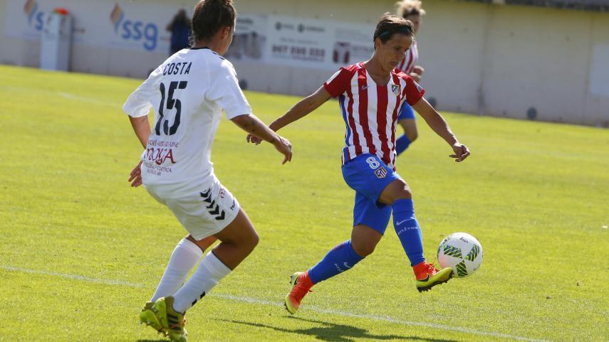 Sonia Bermúdez, máxima goleadora de la Liga Iberdrola