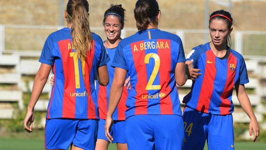 El FC Barcelona, primer líder en solitario de la Liga Iberdrola