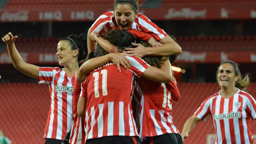 El Athletic Femenino vuelve a la Champions con victoria en San Mamés