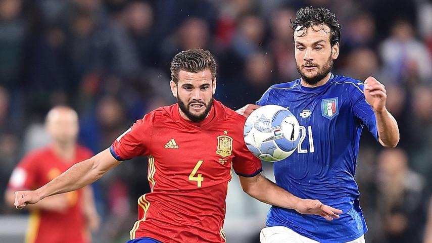 España saca un valioso empate ante Italia