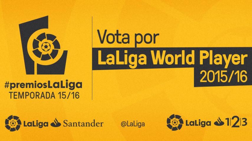 Los seguidores de LaLiga elegirán a los ganadores del premio LaLiga World Player