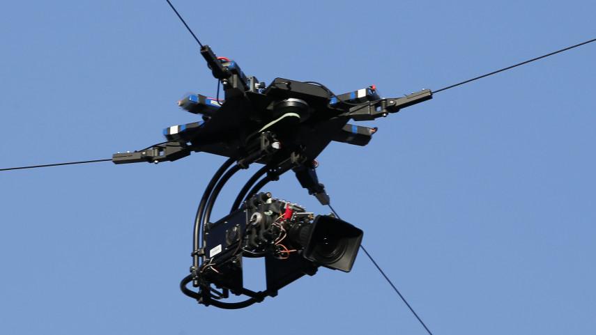 La cámara aérea, un paso más en la apuesta por la