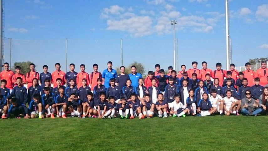 Finaliza el Campus de LaLiga y CEAIE con la participación de 60 niños de China