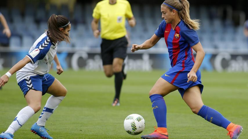 El FC Barcelona, líder de la Liga Iberdrola una jornada más