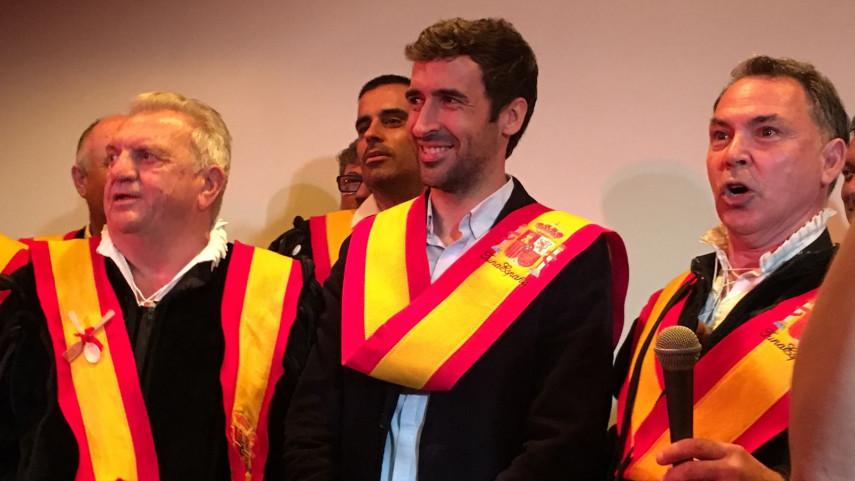 Raúl González, country manager de LaLiga en Estados Unidos, distinguido como 'Caballero Español' en Nueva York