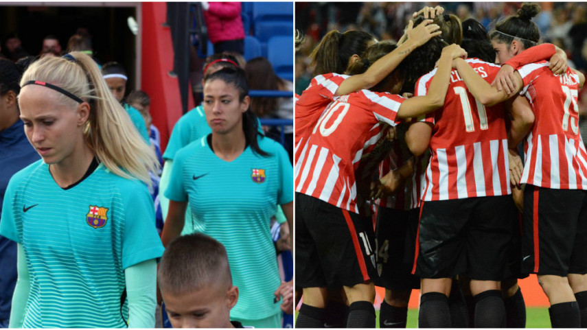 Barcelona and Athletic a step away from the Women's Champions League last 16
