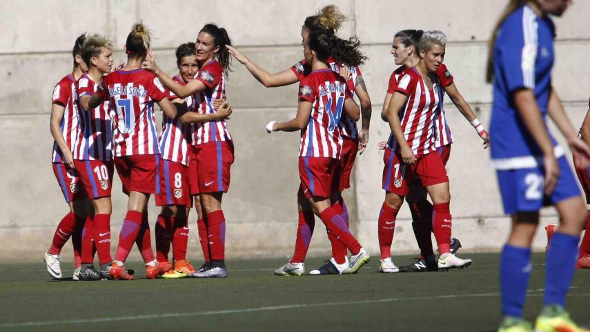 El At. Madrid Femenino asalta la cabeza de la Liga Iberdrola
