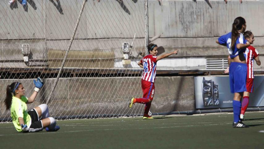 Sonia Bermúdez, máxima goleadora de la Liga Iberdrola por tercera jornada consecutiva
