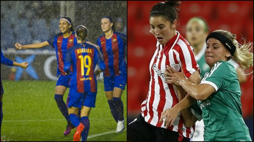 Barcelona into Women's Champions League last 16, while Athletic bow out