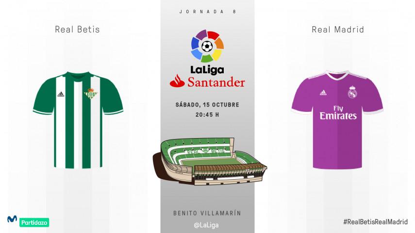 Betis vs Real Madrid: volver a la senda de la victoria
