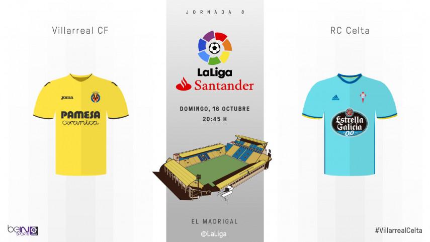 Villarreal y Celta quieren seguir al alza