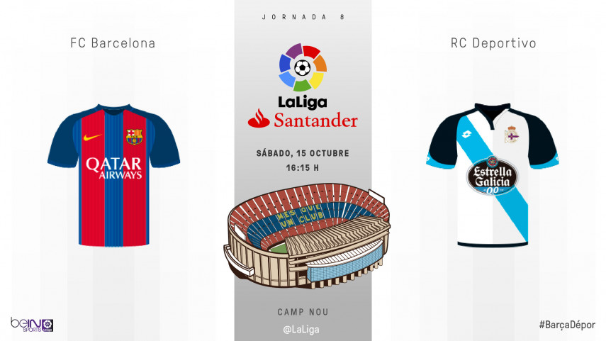 El Deportivo acude al Camp Nou en el regreso de Messi