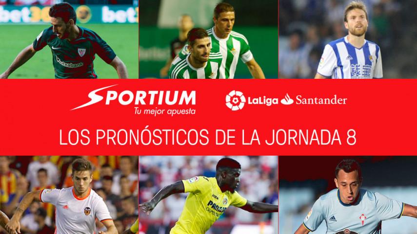 Las recomendaciones de Sportium para la jornada 8 de LaLiga Santander