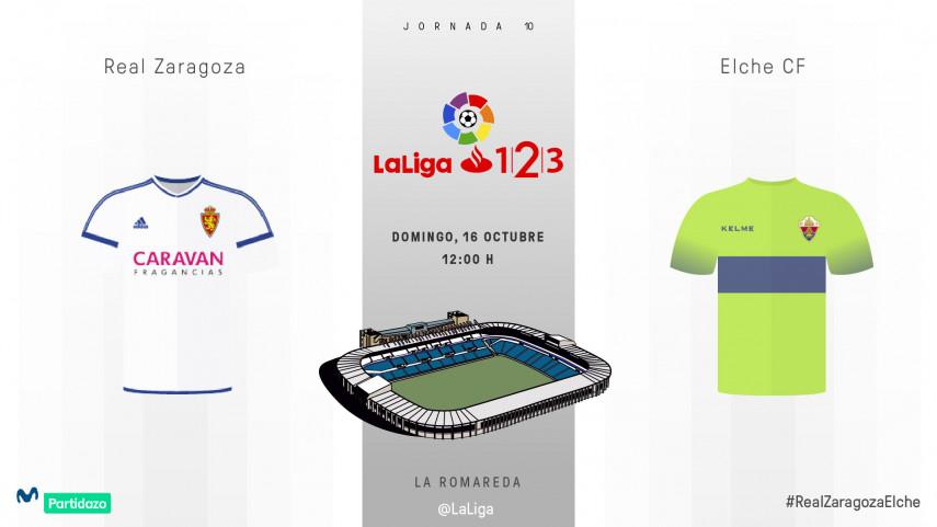 Invertir la dinámica, objetivo para Real Zaragoza y Elche