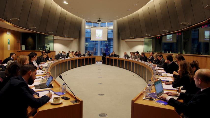 LaLiga reafirma en el Parlamento europeo la importancia de las inversiones de terceros para el fútbol