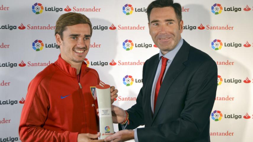 Antoine Griezmann named LaLiga Santander Player of the Month for September