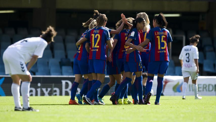 Barcelona y Atlético de Madrid Femenino hacen los deberes en la Liga Iberdrola