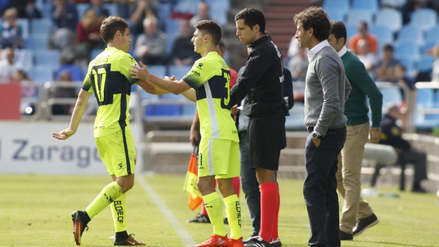 El Real Zaragoza prescinde de los servicios de Luis Milla