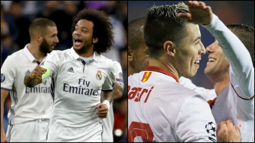 El Real Madrid y el Sevilla suman y siguen en la tercera jornada de la Champions
