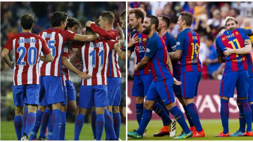 Barcelona y Atlético, a seguir la buena racha en Europa