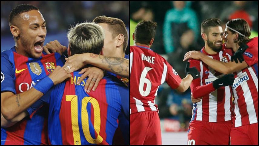 Pleno de victorias españolas en Champions