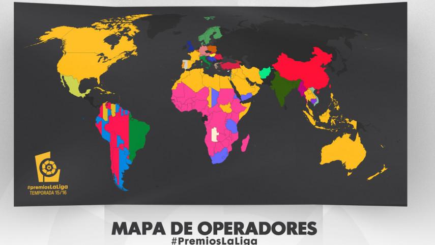 Más de 180 países seguirán en directo la Gala de los #PremiosLaLiga