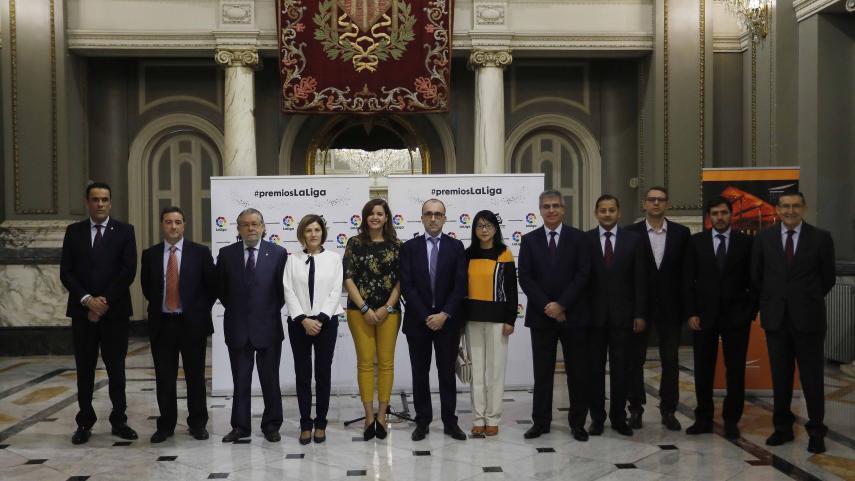 El Ayuntamiento de Valencia abre sus puertas a LaLiga