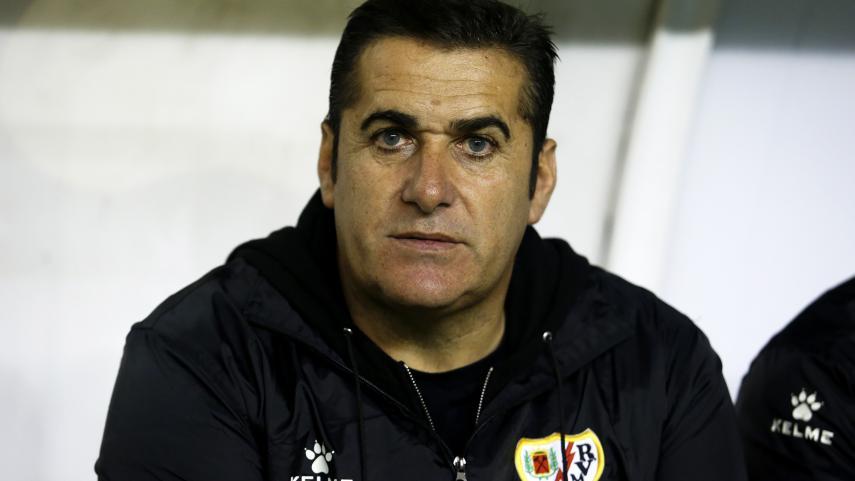 José Ramón Sandoval deja de ser entrenador del Rayo Vallecano
