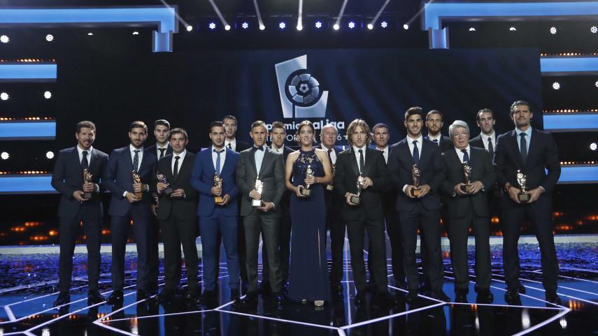 The #PremiosLaLiga 2015/16 Gala a resounding success