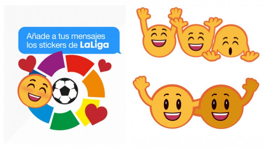 Disfruta de los nuevos stickers de LaLiga en tu iPhone