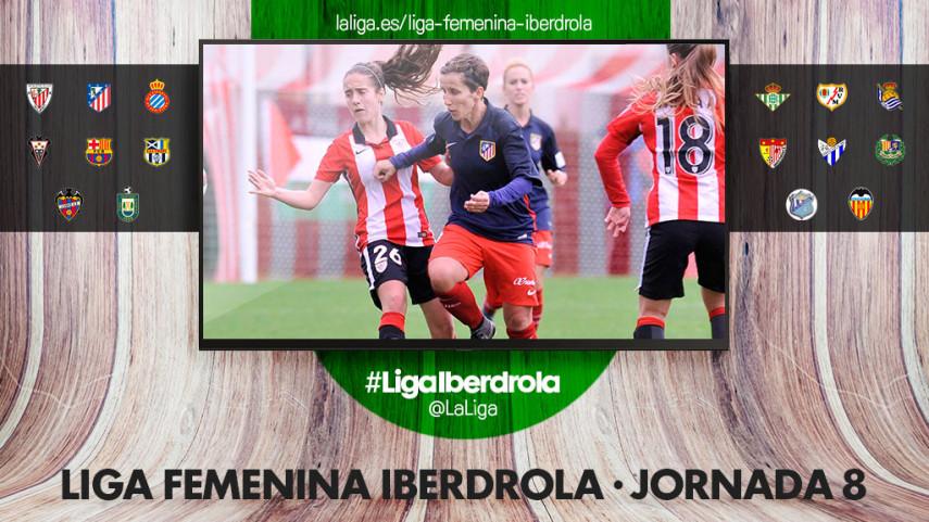 El At. Madrid defiende liderato ante el Athletic en la jornada ocho de la Liga Iberdrola
