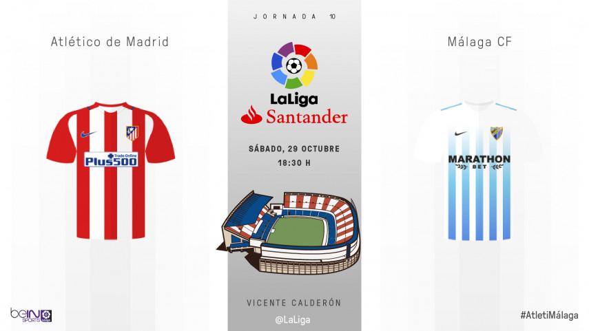 El Atlético busca recuperar sensaciones ante el Málaga