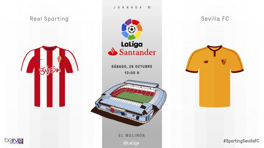 El Molinón, piedra de toque para la racha del Sevilla FC